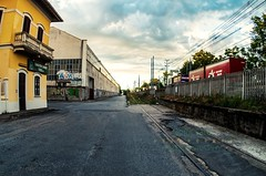 binario morto (GpRiccardi) Tags: train graffiti pentax fisheye stazione treno ferrovia legnano binariomorto areadismessa pelengfisheye1728