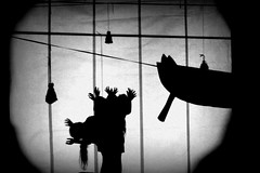 shadow theatre in Kielce (cloudy-morning) Tags: kids theatre shadowplay pantomime