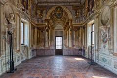 La parete Nord (drugodragodiego (Thanks 1,9 Million)) Tags: sabbioneta mantova lombardia italy gonzaga architecture affreschi galleria gallery pentax pentaxk3 k3 sigma sigma816mm sigma816mmf4556dchsm greatphotographers