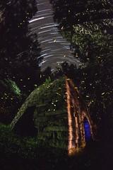 Captain Daniel Shelor's Iron Furnace (InteractiveLP) Tags: history fireflies lightningbugs stack startrails painting photography wwwinteractivelpcom jeremyjackson aaronbauer ilp light lightpainting longexposure paintingwithlight