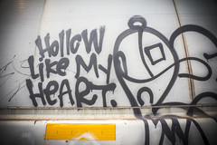 Hollow Like My Heart (Rodosaw) Tags: documentation of culture chicago graffiti photography street art subculture