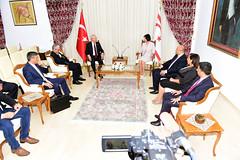 KKTC'DE RESMI TEMASLAR (FOTO) (CHP FOTOGRAF) Tags: siyaset sol sosyal sosyaldemokrasi chp cumhuriyet kilicdaroglu kemal ankara politika turkey turkiye tbmm meclis kktc baskani sibel siber cyprus kibris