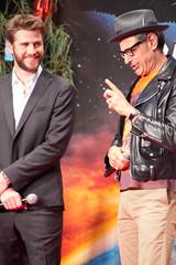 Independence Day: Resurgence Japan Premiere: Liam Hemsworth & Jeff Goldblum (Dick Thomas Johnson) Tags: japan tokyo minato roppongi      roppongihills  roppongihillsarena  movie film premiere moviepremiere event   japanpremiere independencedayresurgence  liamhemsworth  jeffgoldblum