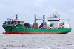 Bosun (andreasspoerri) Tags: antiguabarbuda bosun containerschiff csclfos cuxhaven gdynia imo9228540