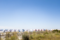 (gwoolston) Tags: tents beach ocean dunes sand umbrella capemay jerseyshore