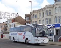 BF16XPZ Caledonian Travel on the move along Blackpool Promenade (j.a.sanderson) Tags: bf16xpz caledonian travel move along blackpool promenade caledoniantravel gibson direct renfrew ta mercedes benz tourismo coach coaches