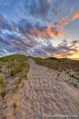 Trail ... to the clouds II (Ken Scott) Tags: leelanau michigan usa 2016 august summer 45thparallel hdr kenscott kenscottphotography kenscottphotographycom freshwater greatlakes lakemichigan sbdnl sleepingbeardunenationallakeshore voted mostbeautifulplaceinamerica