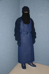 Apron (Buses,Trains and Fetish) Tags: slave warm fleece girl torture hot niqab hijab burka anorak sweat