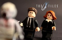 I Want to Believe (The FUDGY) Tags: x files scully mulder lego custom alien flukeman the
