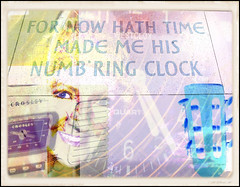 DON'T LISTEN TO THE TICKING OF THE CLOCK (poppycocqu) Tags: thebyrds turnturnturn clock art artwork creative creativity selfie selfportrait me poppy happybirthday greetings friend friendship spiritual abstract abstraction guitar stereo crosley westclox westgermany shakespeare williamshakespeare stratforduponavon stratford warwickshire holiday self turn turntable recordplayer poem poetry prose time heaven nature eyes smile happy stillness still taketimetobestill quote quotation soundtrack compilation photographs memories hobbies richardii eye design people person portrait retro vintage fan raindrops droplets