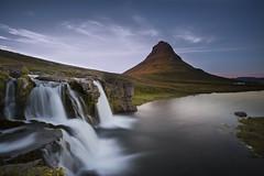 Kirkjufell mountain in Iceland (Benedikt Halfdanarson) Tags: kirkjufell kirkjufellsfoss icelandicmountain grundarfjrur foss waterfall bigstopper