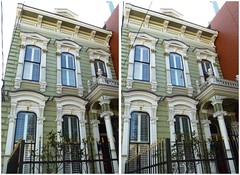 2737 California (San Francisco in stereo) Tags: crossview 3d stereophotograph victorianhouse