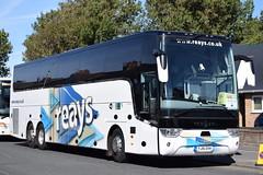 YJ16EHH  Reays, Wigton (highlandreiver) Tags: yj16ehh yj16 ehh reays coaches wigton penrith carlisle egremont van hool tx astron bus coach utd united blackpool lancashie