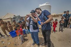 Hardship in the Desert_162 (EU Humanitarian Aid and Civil Protection) Tags: iraq fallujah anbar water nrc norwegianrefugeecouncil logo desert echostaff