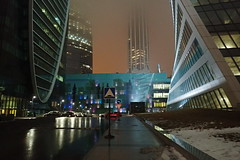 Accès aux tours (8pl) Tags: nuit moscou moscow tours route accès signalisation lumières москва lovelycity infinitexposure