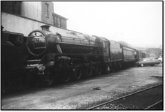 Early Preserved Steam Photos 3 (trafalgar45682) Tags: haworth loco yard black five 45025 preserved steam