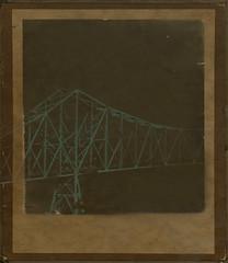 a bridge across (dotintime) Tags: bridge span metal structure steel cross across side green transport dotintime meganlane