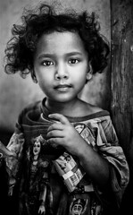 Indonesia - Lombok (mokyphotography) Tags: indonesia lombok fishermanvillage people persone ritratto portrait baby littlegirl bambina viso face eyes occhi
