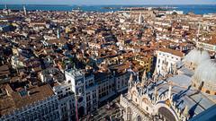 High above San Marco square, Venice (patrickmandersson) Tags: venice sanmarcosquare sanmarcobasilica venezia