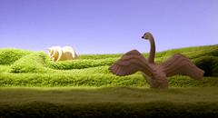 SWAN (Renato Morselli) Tags: animali plastica toys giocattoli cigno swan