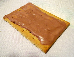 Pop Tart On A Paper Towel. (dccradio) Tags: lumberton nc northcarolina robesoncounty breakfast poptart kelloggs smores frosted pastry toaster papertowel whitebackground food eat sweet snack