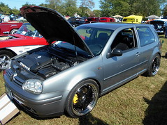 2003 Volkswagen GTI (splattergraphics) Tags: 2003 volkswagen gti vw markiv volksrod carshow chesapeakeclassiccarclub eastonmd