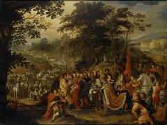 Jacob prepares to meet his estranged brother, Esau (Genesis 32:1 - 32:21) (bibleblender) Tags: angel esau fear genesis gifts jacob mahanaim prayer