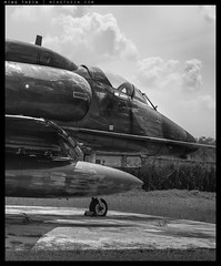 B0000283 copy (mingthein) Tags: thein onn ming photohorologer mingtheincom mingtheingallery availablelight bw blackandwhite monochrome aircraft airplane fighter military air force muzium tudm malaysia kl kuala lumpur hasselblad 501cm medium format 6x6 cfv50c digital