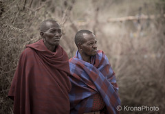 Masai men, Ngorongoro, Tanzania (KronaPhoto) Tags: 2016 ngorongoro masai men people dress mennesker travel dof tanzania africa portrait