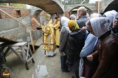 109. The Laying of the Foundation Stone of the Church of Saints Cyril and Methodius / Закладка храма святых Мефодия и Кирилла 09.10.2016