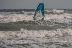 Old School Surfing (astielau) Tags: brandung damp kitesurfing