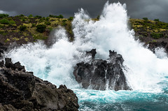 Big island , Hawaii (Rick Vega) Tags: ocean pacific d7000 nikon water rocks waves hawaii bigisland