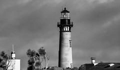 Corolla Light, B&W (Donald.Gallagher) Tags: corolla corollalight horizontal lighthouse manmadeobject nc northamerica northcarolina obx outerbanks outerbanx public summer typeblackwhite typeportrait typetelephoto usa whalehead