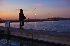 296/366 (local paparazzi (isthmusportrait.com)) Tags: 366project canon5dmarkii 50mmf14usm ef eos lopaps pod 2016 prime aperture redskyrocketman localpaparazzi isthmusportrait madisonwi danecountywisconsin shadow person human sunset pretty colorful raw cr2 canonraw photoshopelements7 pse7 pink blue magenta fisherman fishing fish cast pole silhouette tennypark tennylocks