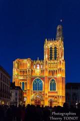 Lumires de Sens 2014 (c) Thierry Toinot (Sens Tourisme) Tags: cathedral burgundy cathdrale lightshow bourgogne tourisme spectacle sonetlumire yonne sensunique lumiresdesens