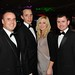From left: Colin Gurry, Crux Ent; Stephen Enright and Fiona Enright, Montenotte Hotel and Shane Ryan, Crux Ent.