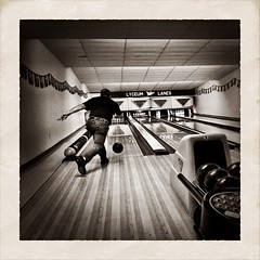 IMG_4088 (agentsmj) Tags: camera wood sport club ball private alley december pennsylvania competition pinhole pa bowling strike league marianna lanes iphone 2014