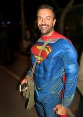 Halloween 14 353 (danimaniacs) Tags: man hot sexy guy smile comics beard dc costume hunk super superman hero hunky scruff bulge halloween14
