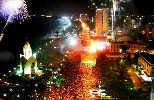 Nha Trang chào đón năm mới