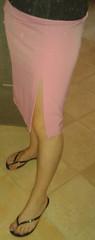 slippers and skirt - ciabattine e gonna (| Alessia Rossini | IT) Tags: hot sexy feet fetish sandals cd nail rosa polish skirt flats thong flip barefeet trav flop gonna slippers piedi piedini nudi infradito smalto ciabatte sandali inblu ciabattine sandaletti