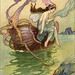 """Warwick Goble """"For the Nautilus is my boat, In which I over the waters float """""""