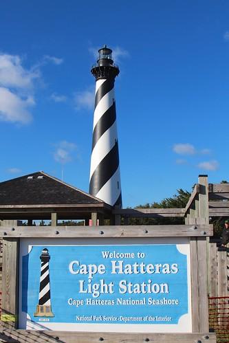 Cape Hatteras Light Station sign