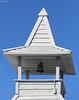 Steeple and Bell (wyojones) Tags: architecture bell florida steeple np johnspass madeirabeach johnspassvillage mitchellbeach wyojones