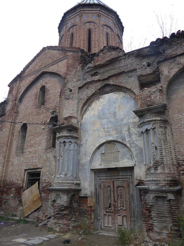 Derelict church
