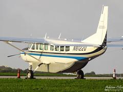 Private --- Cessna 208B Grand Caravan --- N8122U (Drinu C) Tags: plane private aircraft sony grand caravan dsc cessna mla 208b lmml hx9v adrianciliaphotography n8122u