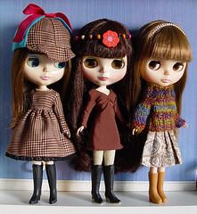 Dolly Shelf Sunday - brunettes!