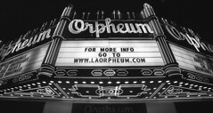 Orpheum Theater Marquee (lammyracer) Tags: losangeles broadway orpheum