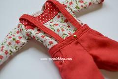 Outfit for Pullip (ronmielshop) Tags: shirt outfit doll clothes short pullip poisongirl smock ronmiel ronmielshop ronmieldolls