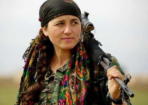 Kurdish YPG Fighter, From FlickrPhotos