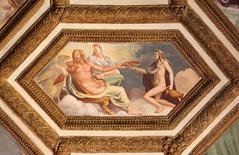 Jupiter and Juno (raffaele pagani) Tags: italy canon italia mantova lombardia fresco mantua gonzaga affresco lombardy northitaly palazzote cameradeiventi chamberofthewinds